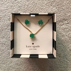 Kate Spade Necklace and Earrings Set